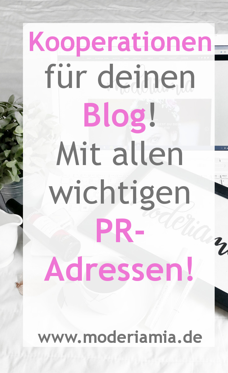 Blogger Kooperationen Blog Kooperation Anschreiben Pr-Agenturen für Blogger Modeblog Fashion Blog Fashion Blog Mamablog